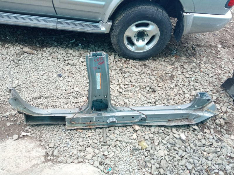 Порог кузова Honda Hrv GH3 D16A 2000 левый