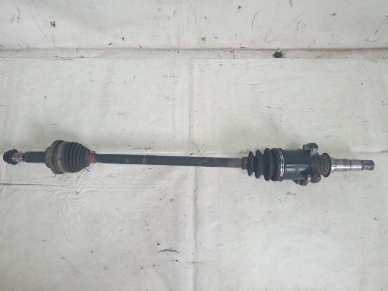 Привод Toyota Estima AHR20W 2AZFXE 2009 задний правый