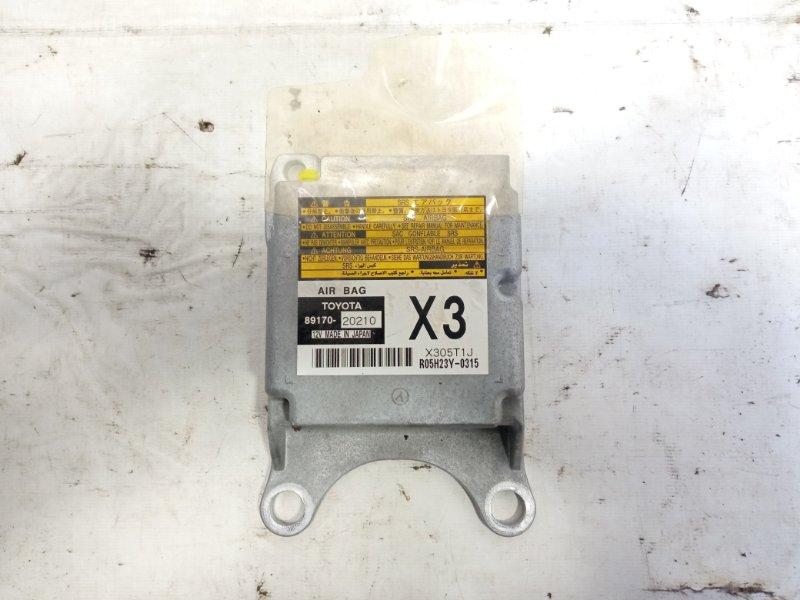 Блок управления airbag Toyota Allion AZT240 1ZZFE 2005