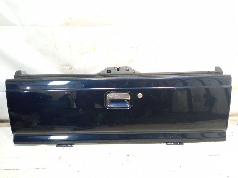 Дверь 5я Mazda Proceed Marvie UVL6R WLT 1997 задняя