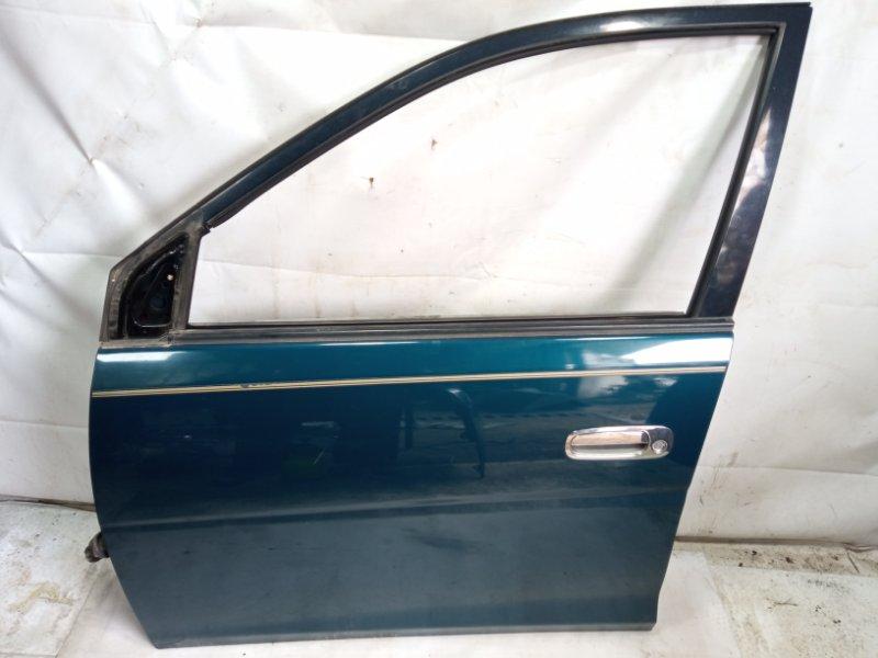 Дверь Toyota Gaia SXM10 3CTE 2000 передняя левая