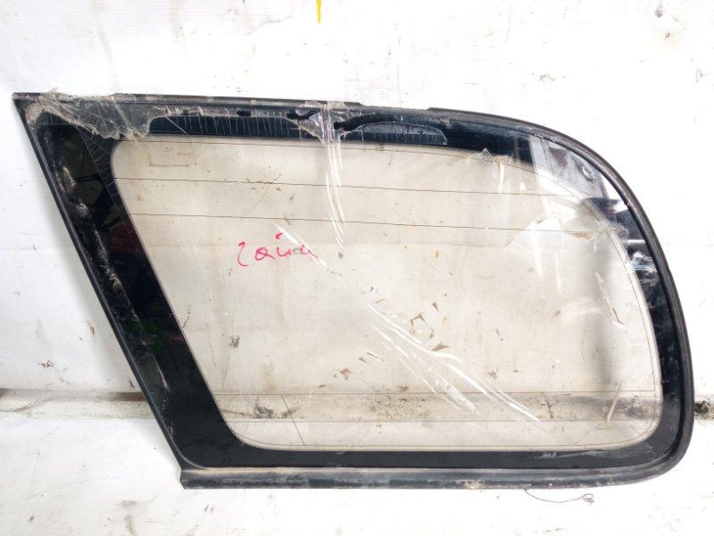 Стекло собачника Toyota Gaia SXM10 3CTE 2000 заднее левое