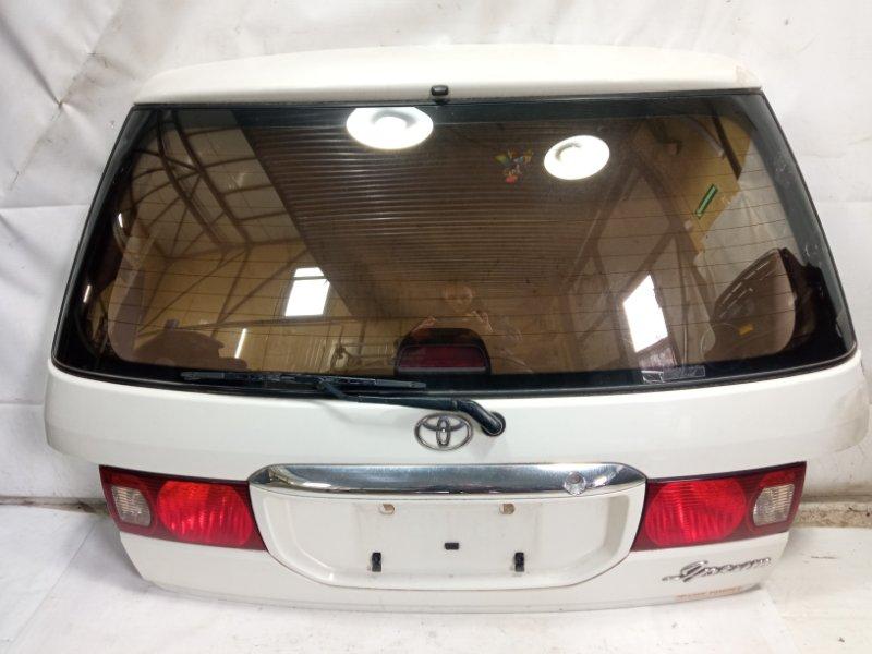 Дверь 5я Toyota Ipsum SXM10 3CTE 1999 задняя
