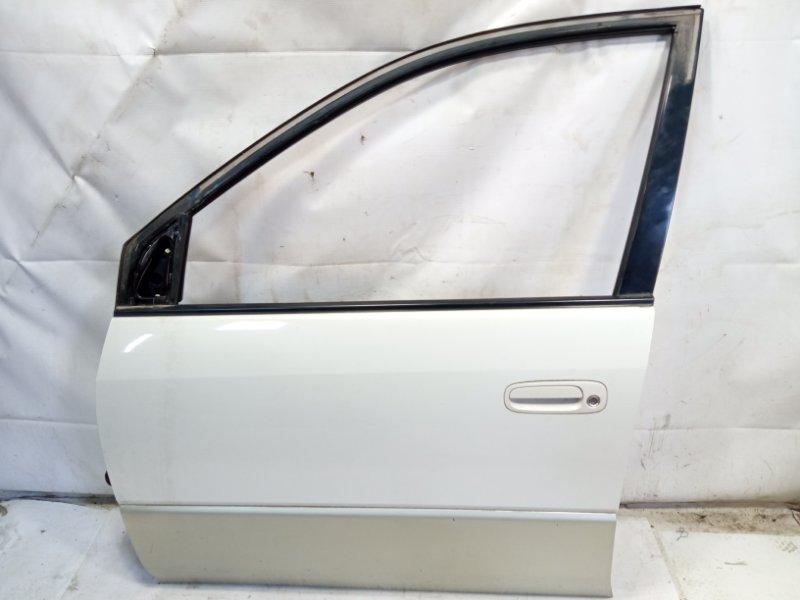 Дверь Toyota Gaia SXM10 3CTE 1999 передняя левая