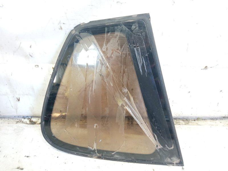 Стекло собачника Toyota Gaia SXM10 3CTE 1999 заднее левое