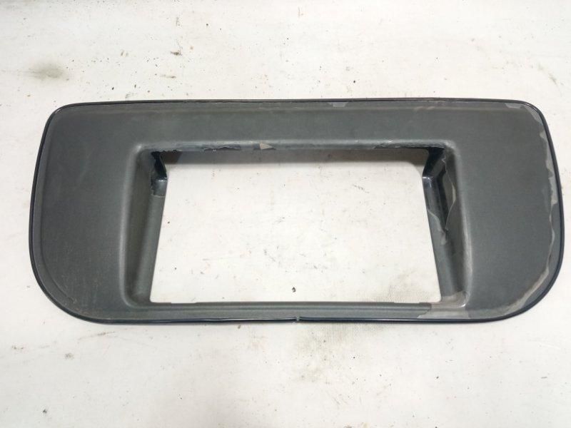 Рамка под номер Nissan Xtrail T30 SR20VET 2001 задняя