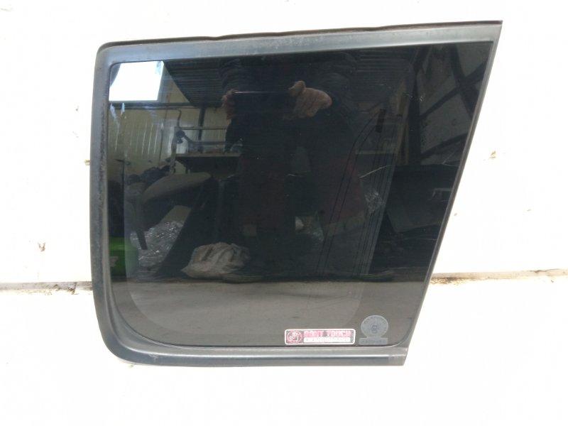 Стекло собачника Nissan Xtrail T30 SR20VET 2001 заднее правое