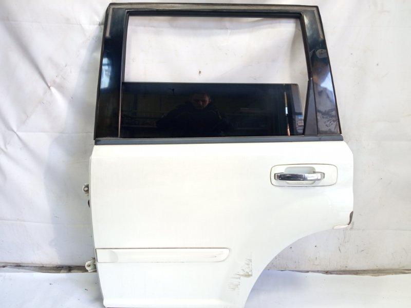 Дверь Nissan Xtrail T30 SR20VET 2001 задняя левая