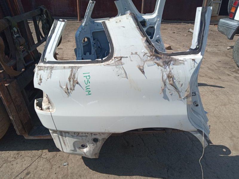 Крыло Toyota Gaia SXM10 3CTE 1999 заднее правое