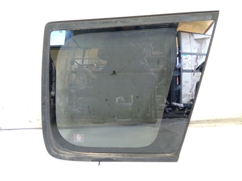 Стекло собачника Nissan Xtrail T30 SR20VET 2005 заднее правое