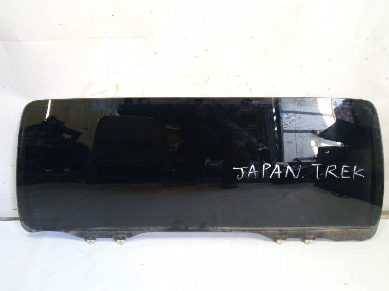 Стекло 5-й двери Toyota Hilux Surf RZN215W 3RZFE 2003 заднее