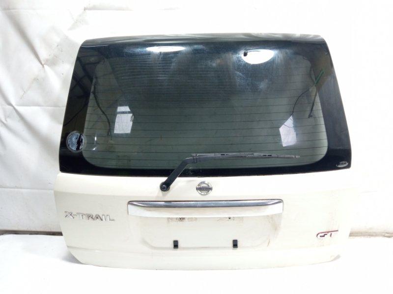 Дверь 5я Nissan Xtrail T30 SR20VET 2003 задняя