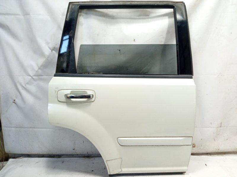 Дверь Nissan Xtrail T30 SR20VET 2003 задняя правая