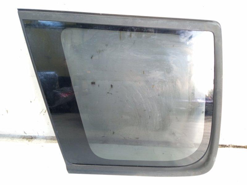 Стекло собачника Nissan Xtrail T30 SR20VET 2001 заднее левое