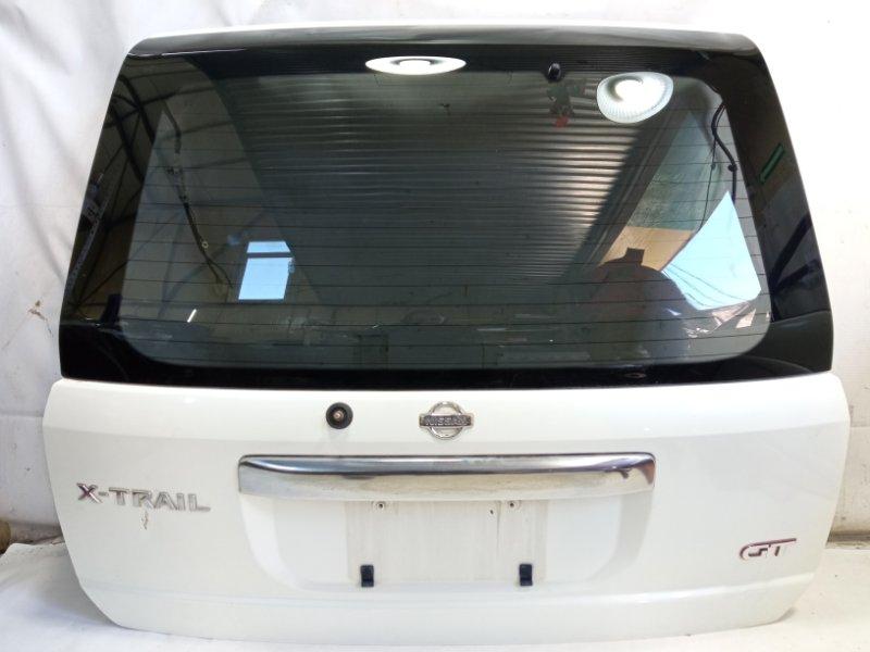 Дверь 5я Nissan Xtrail T30 SR20VET 2001 задняя
