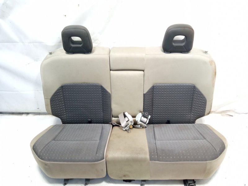 Сидение Nissan Xtrail T30 SR20VET 2001 заднее