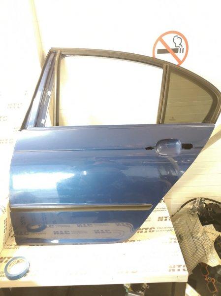 Дверь Bmw 330Xi E46 XI M54B30 2002 задняя левая