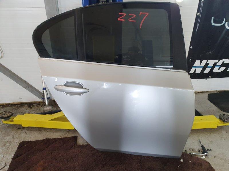 Дверь Bmw 5-Series E60 E60 M54B25 2004 задняя правая