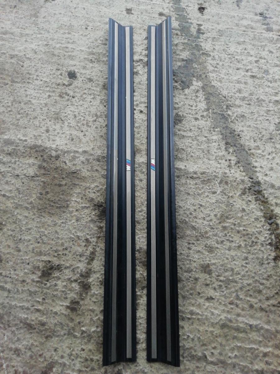 Накладки порогов Bmw E46 Compact
