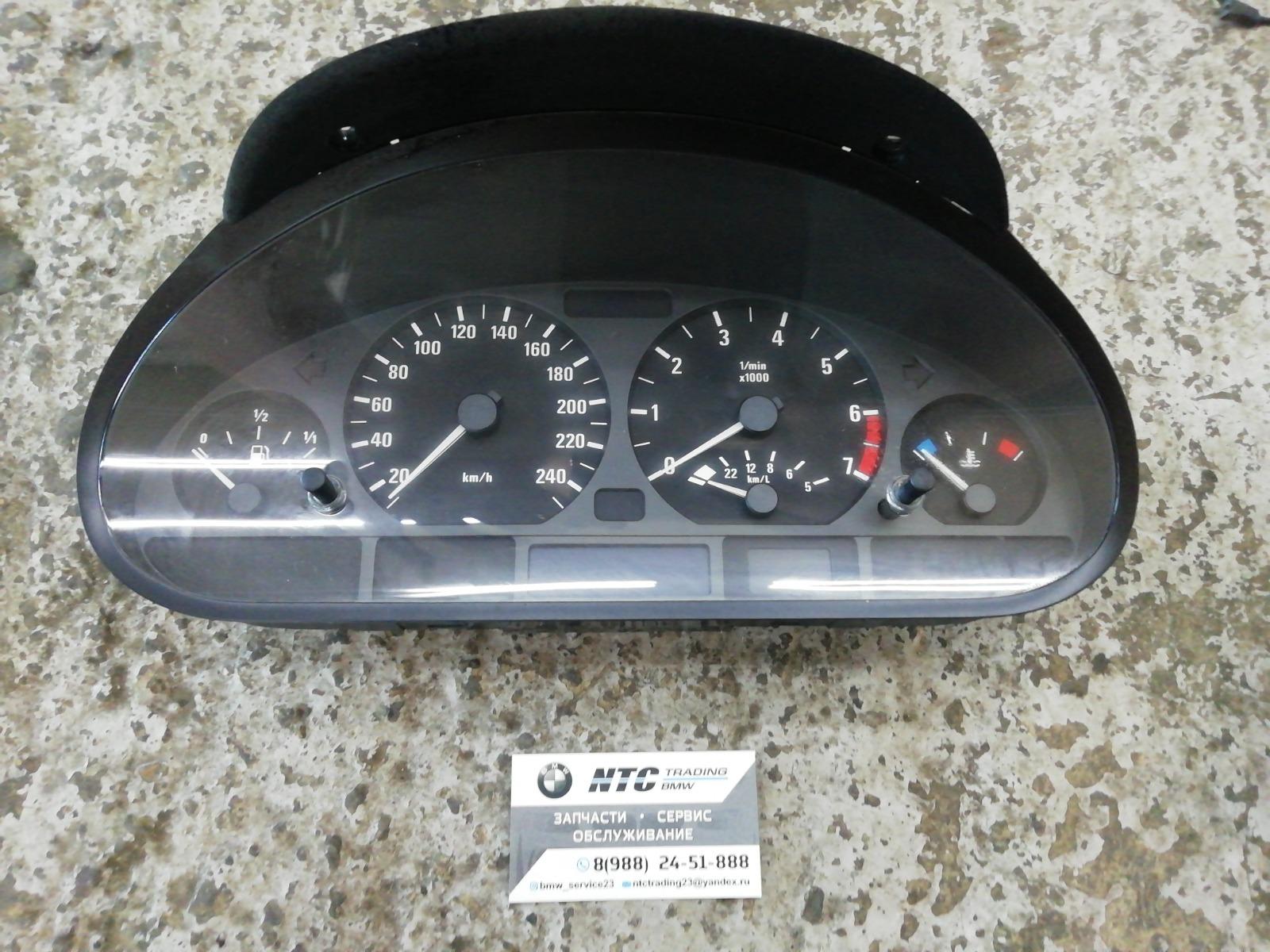 Панель приборов Bmw E46 Compact
