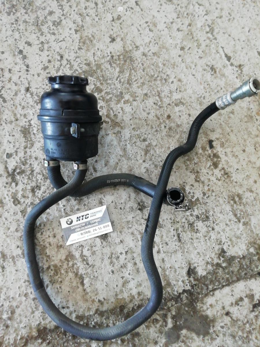 Бачок гур + шланги Bmw E46 Compact