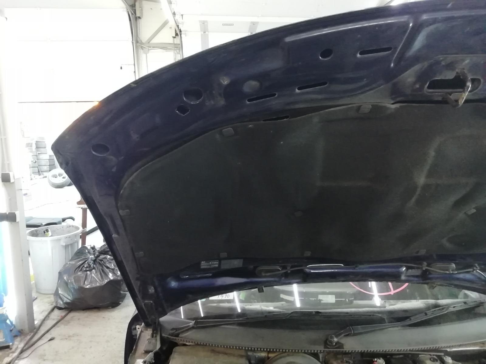 Капот Volkswagen Passat B5