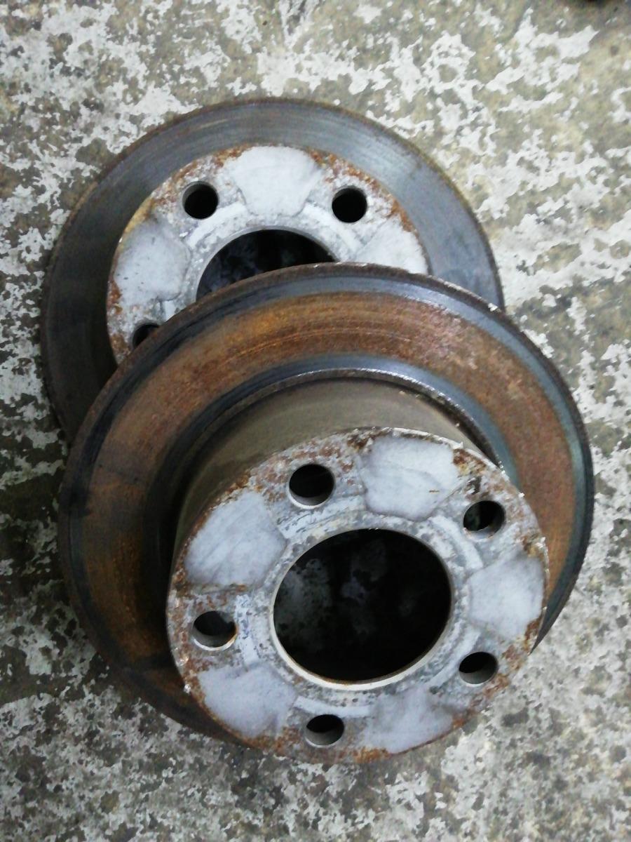 Диски тормозные Volkswagen Passat B5 задние