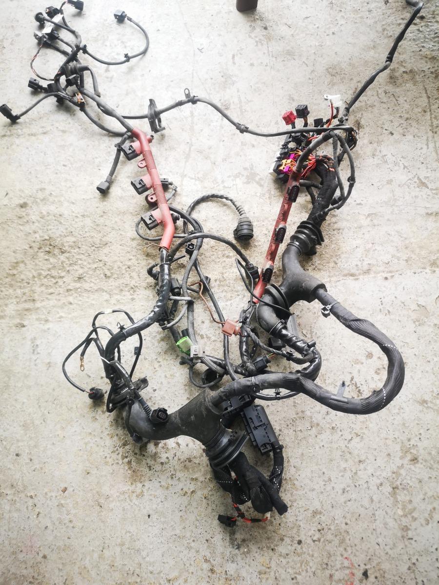 Проводка двигателя Audi A6 C6