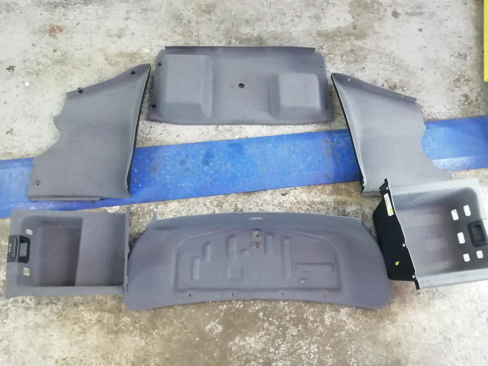 Обшивки багажника Bmw E39 E39