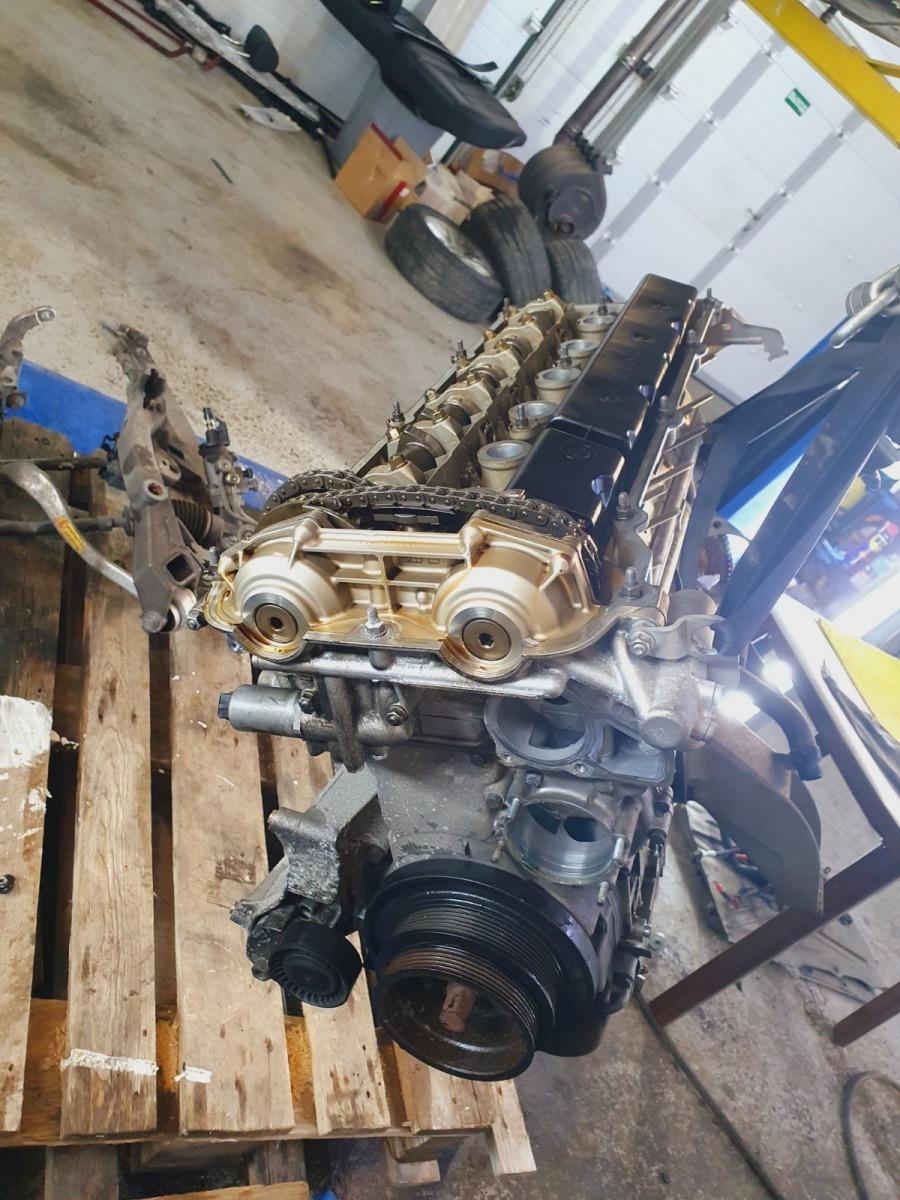 Двигатель Bmw 5-Series E39 E39 M54B30 2002