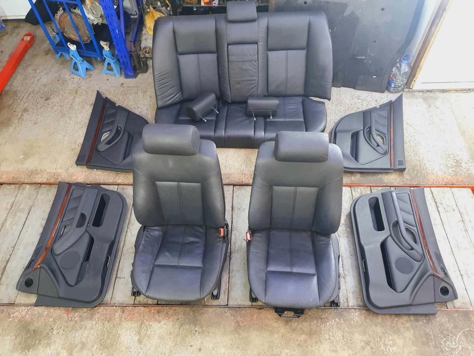 Сидения комплект Bmw 5-Series E39 E39 M54B30 2002