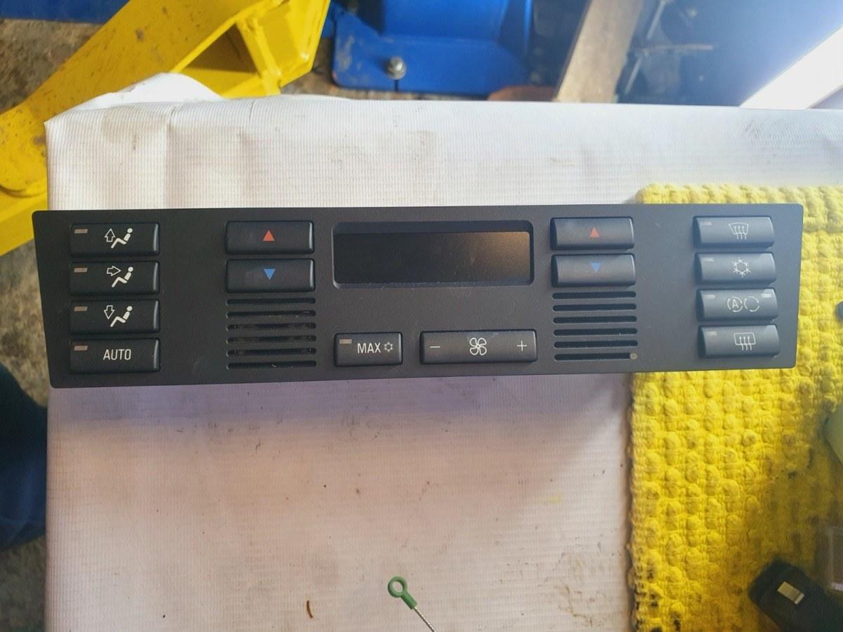 Блок управления климат-контролем Bmw 5-Series E39 E39 M54B30 2001