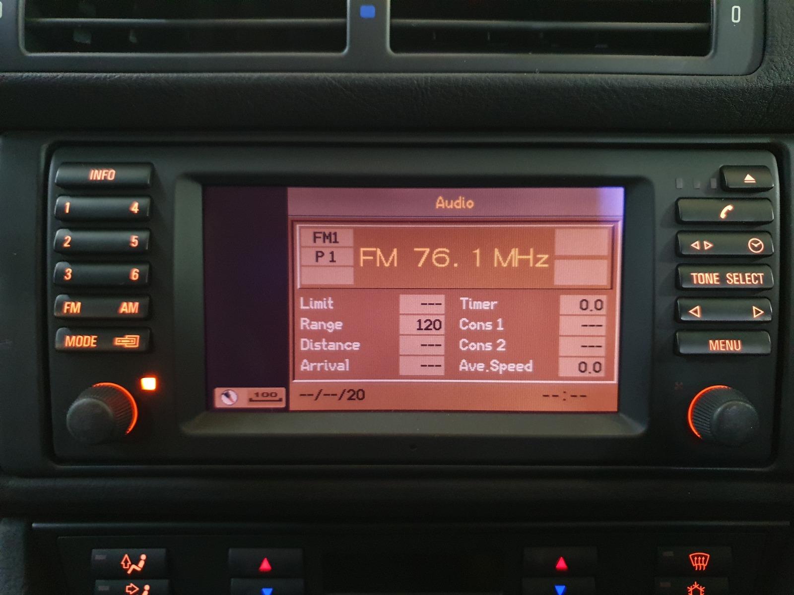 Монитор Bmw 5-Series E39 E39 M54B30 2001