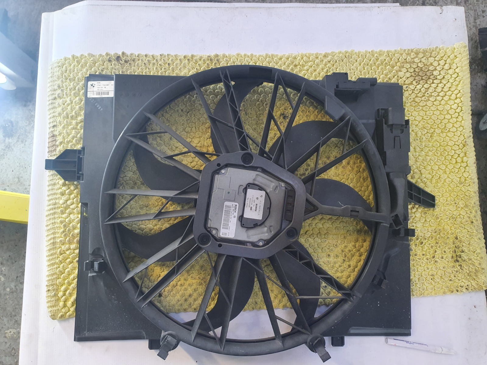 Вентилятор радиатора Bmw 5-Series E60 E60 M54B25 2005