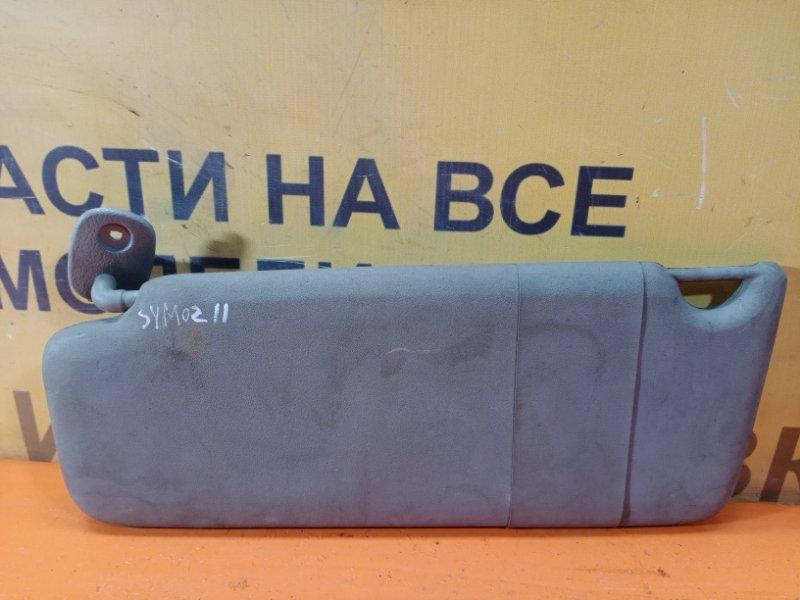 Козырек солнцезащитный передний левый Renault Symbol 1 1998-2008 Б/У