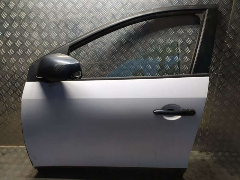 Дверь передняя левая Renault Fluence 1 2009-2016 L30R K4M 839 801015934R Б/У