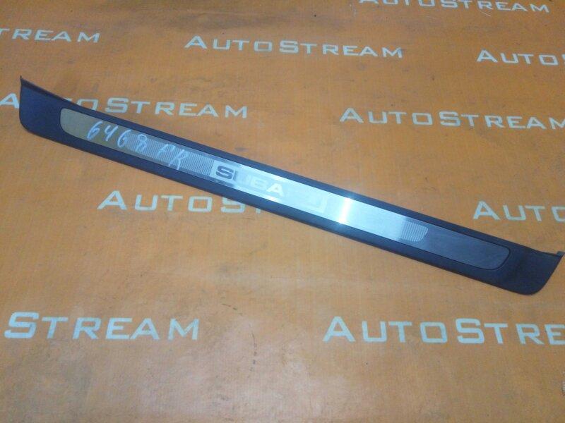 Порожек пластиковый Subaru Legacy BP5 EJ20 2008 передний правый