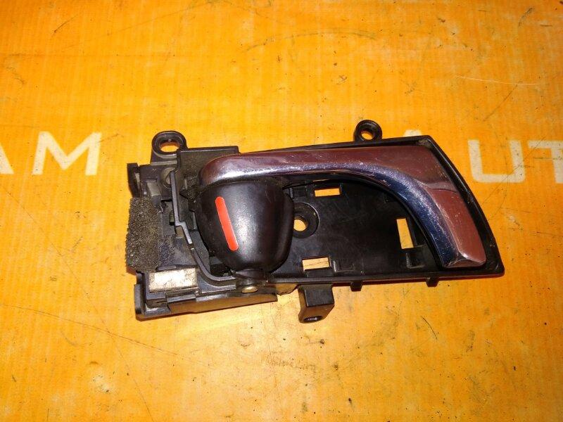 Ручка двери внутренняя Subaru Legacy BP5 EJ203 2008 задняя правая