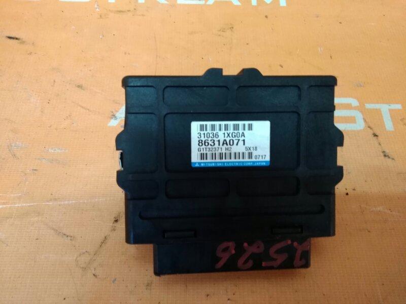 Блок управления автоматом Mitsubishi Outlander CW5W 4B12 2006