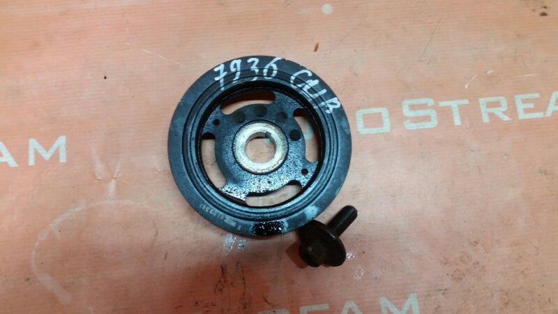 Шкив коленвала Nissan Nissan Ad VY12 HR15DE 2009