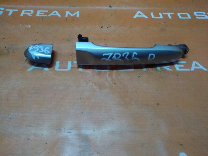 Ручка задней двери Nissan Cube NZ12 HR15DE 2009 задняя
