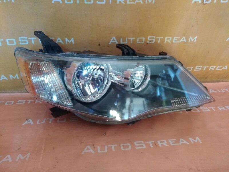 Фара Mitsubishi Outlander CW5W 4B12 2006 передняя правая