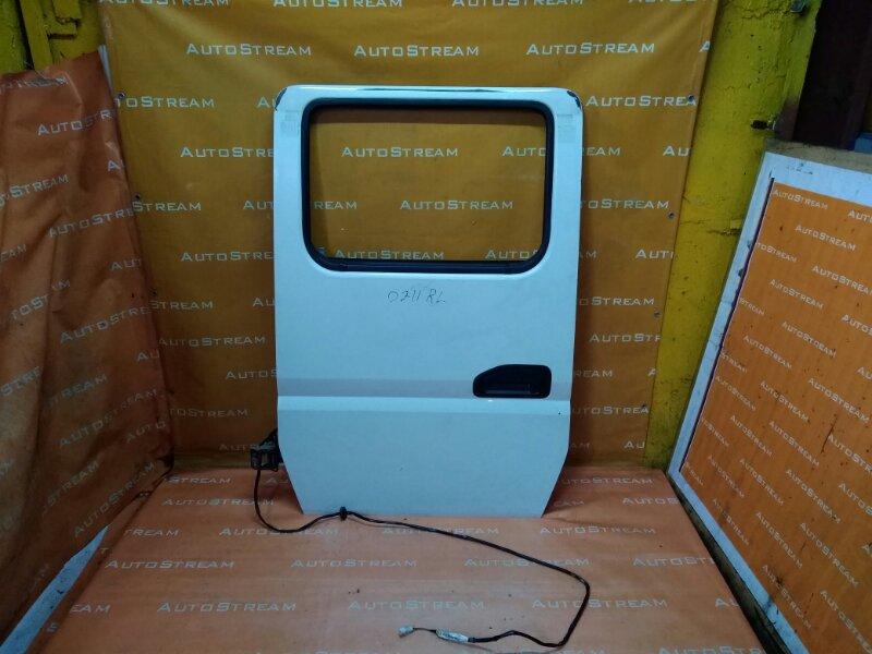 Дверь Mitsubishi Canter FE72DE 4M50T 2007 задняя левая