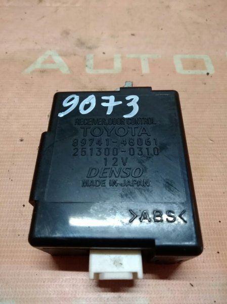 Блок управления дверьми Toyota Kluger MCU25 1MZFE 2002