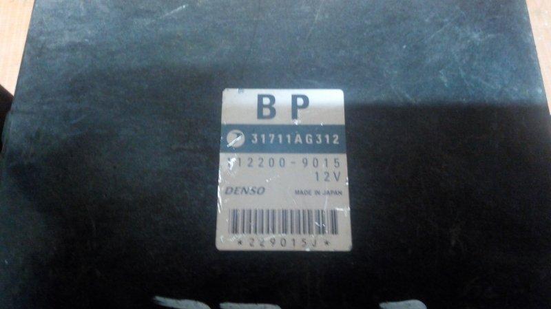 Блок переключения кпп Subaru Forester SG5 EJ205 2002