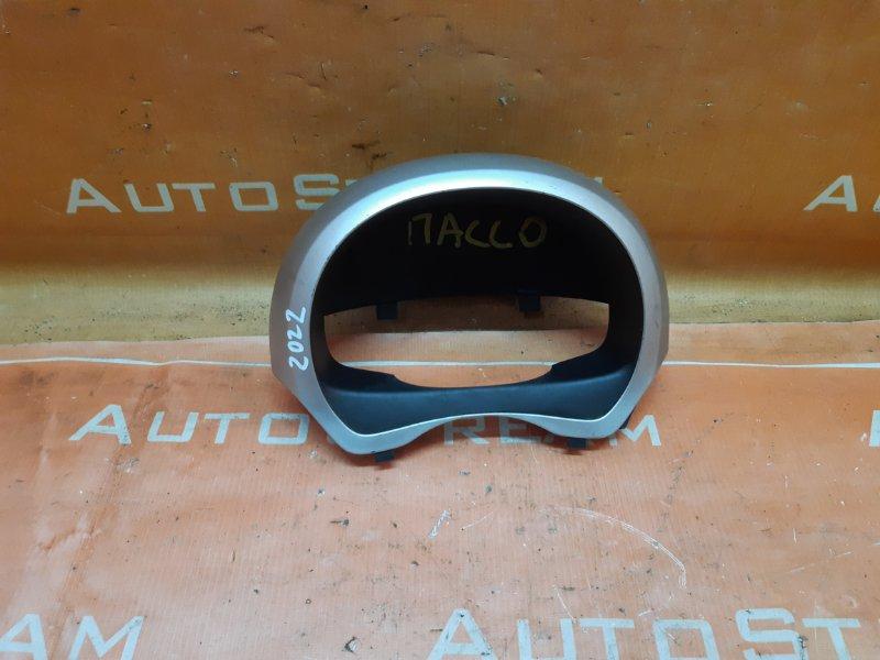Консоль спидометра Toyota Passo KGC10 1KR 2005 передний
