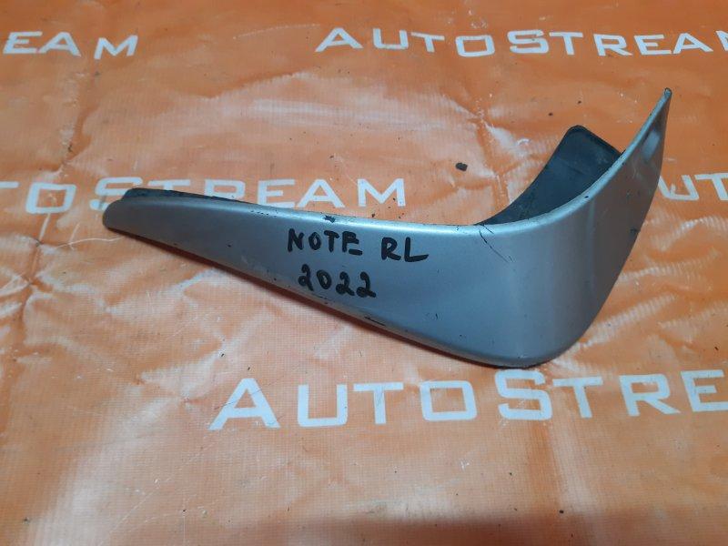 Брызговик Nissan Note E11 HR15 2005 задний левый