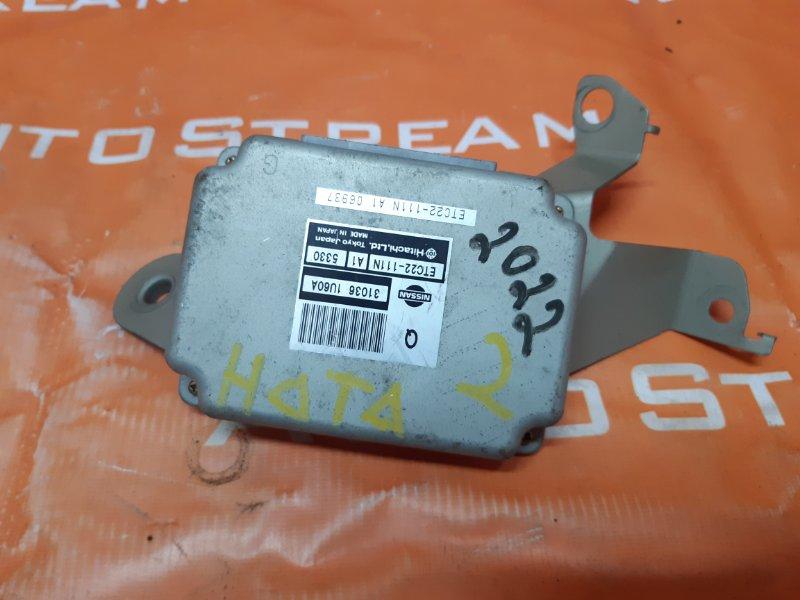 Блок переключения кпп Nissan Note E11 HR15 2005