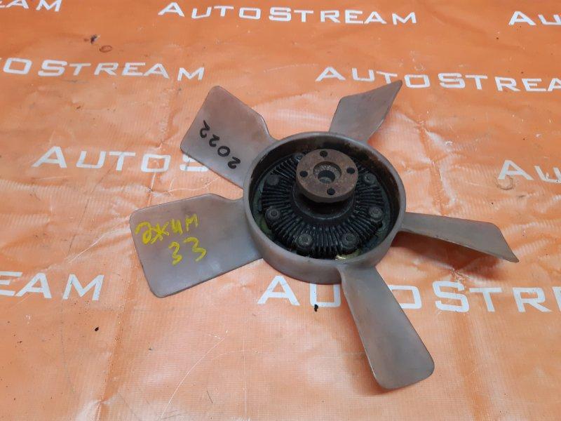 Вентилятор с вязкостной муфтой Suzuki Jimny JB33W G13B 1998