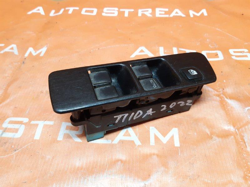 Блок управления стеклоподъемником Nissan Tiida Latio SC11 HR15 2007 передний правый